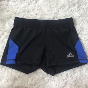Adidas medium compression shorts